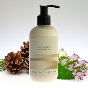 Hand wash Honey, Clary Sage and Pinus Cembra
