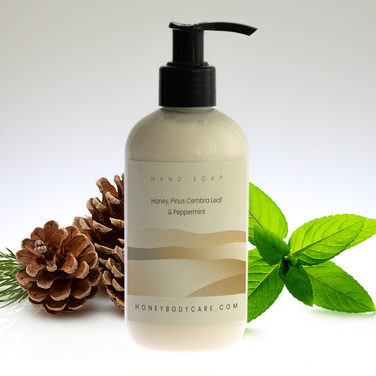 Hand wash Honey, Pinus Cembra and Peppermint