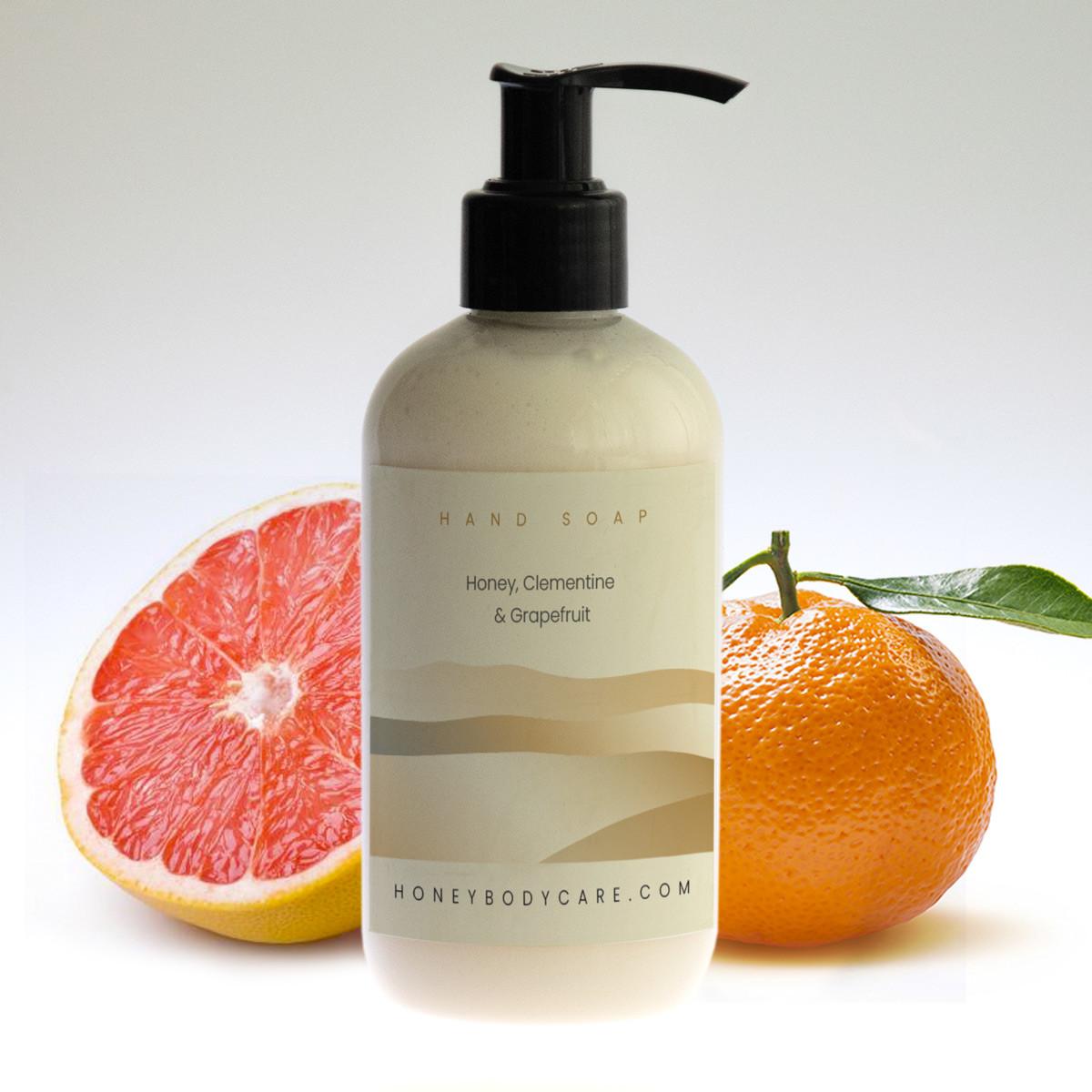 Hand wash Honey, Clementine and Grapefruit